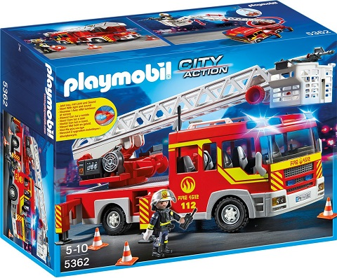 Playmobil Fire Engine rescue unit - 36.97 GBP