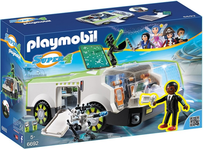 Playmobil Secret Agent Super-Car - 24.99 Euro