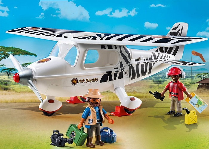 Playmobil Safari airplane