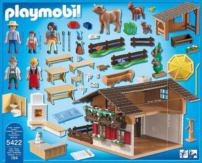 Playmobil Alpine Cabin