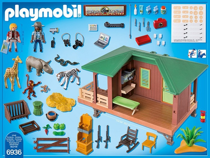 Playmobil animals clinic