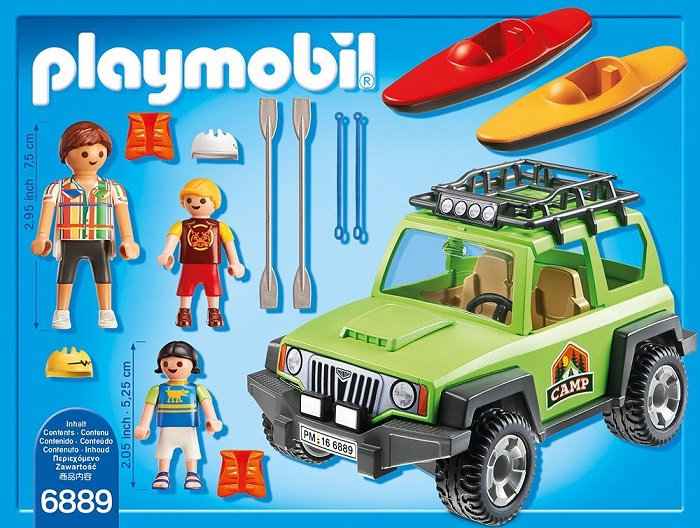 Playmobil Jeep and Campers