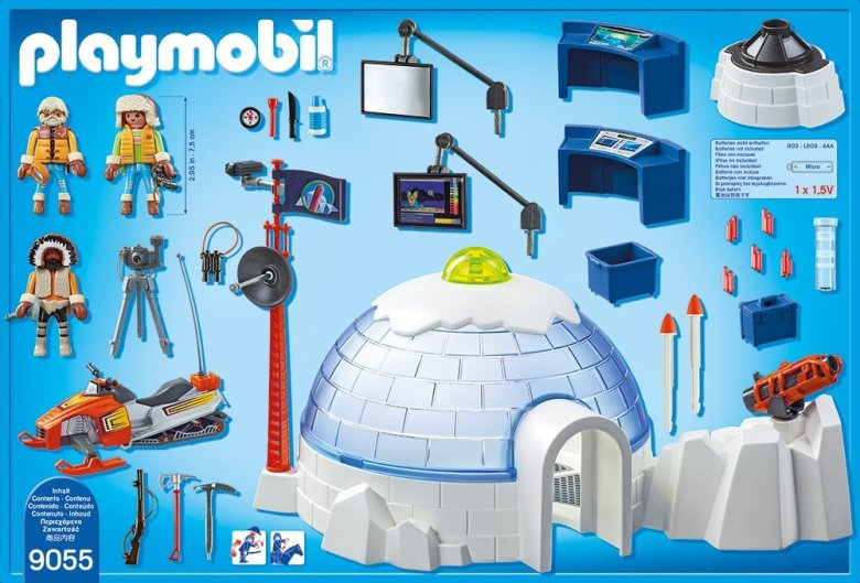 Playmobil Polar Rangers Base