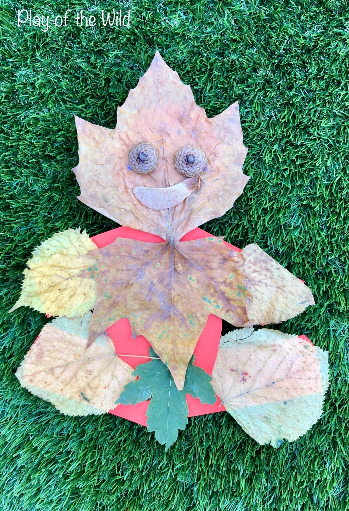 Leaf man who can move.
