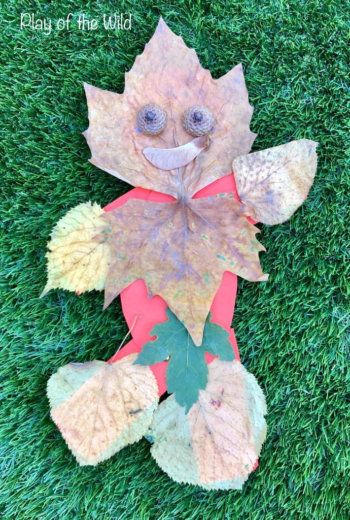 DT, design and technology. Make leaf man move.