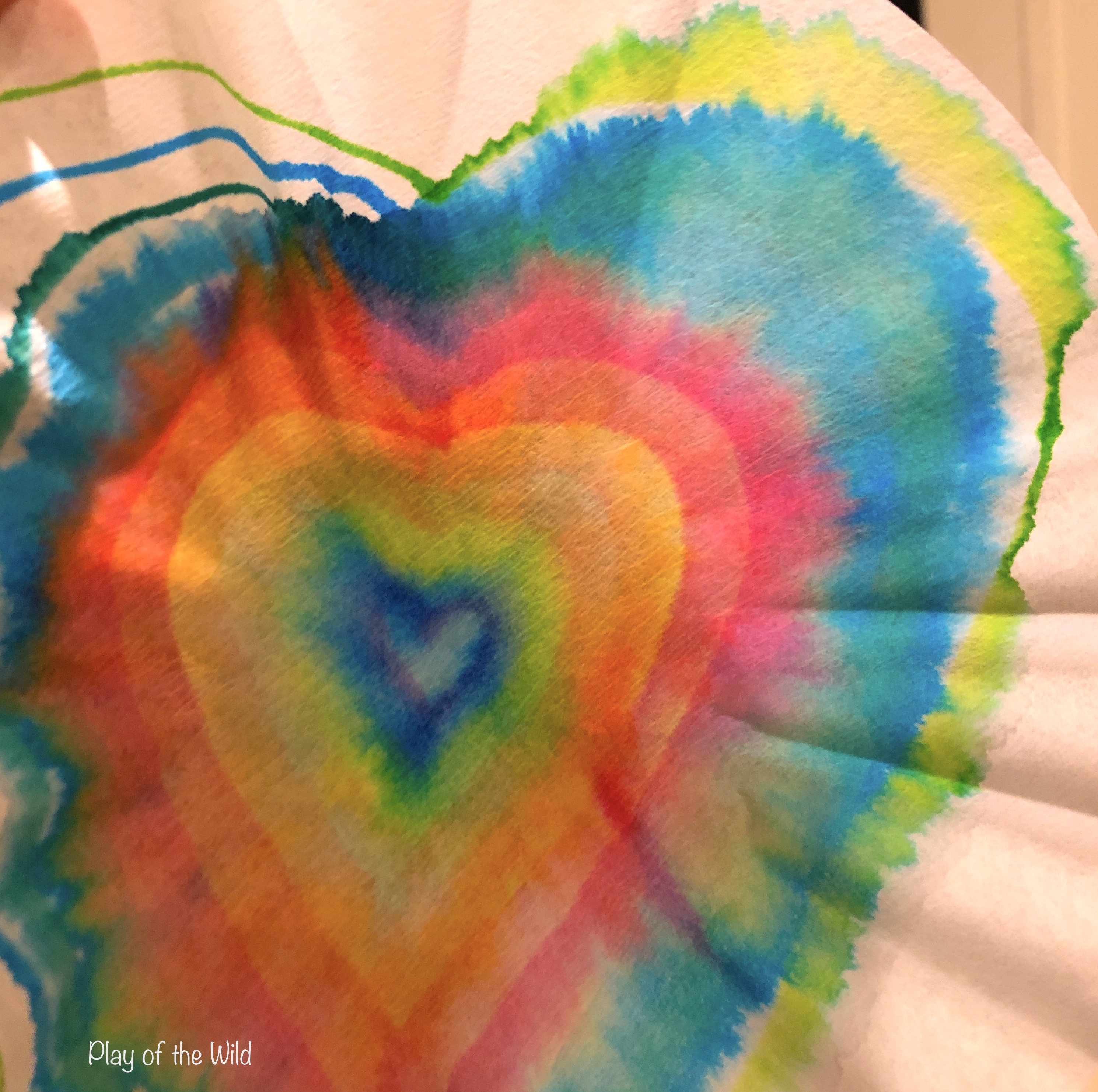 Valentines STEM Art Projects for Toddlers and Kids. chomatography.