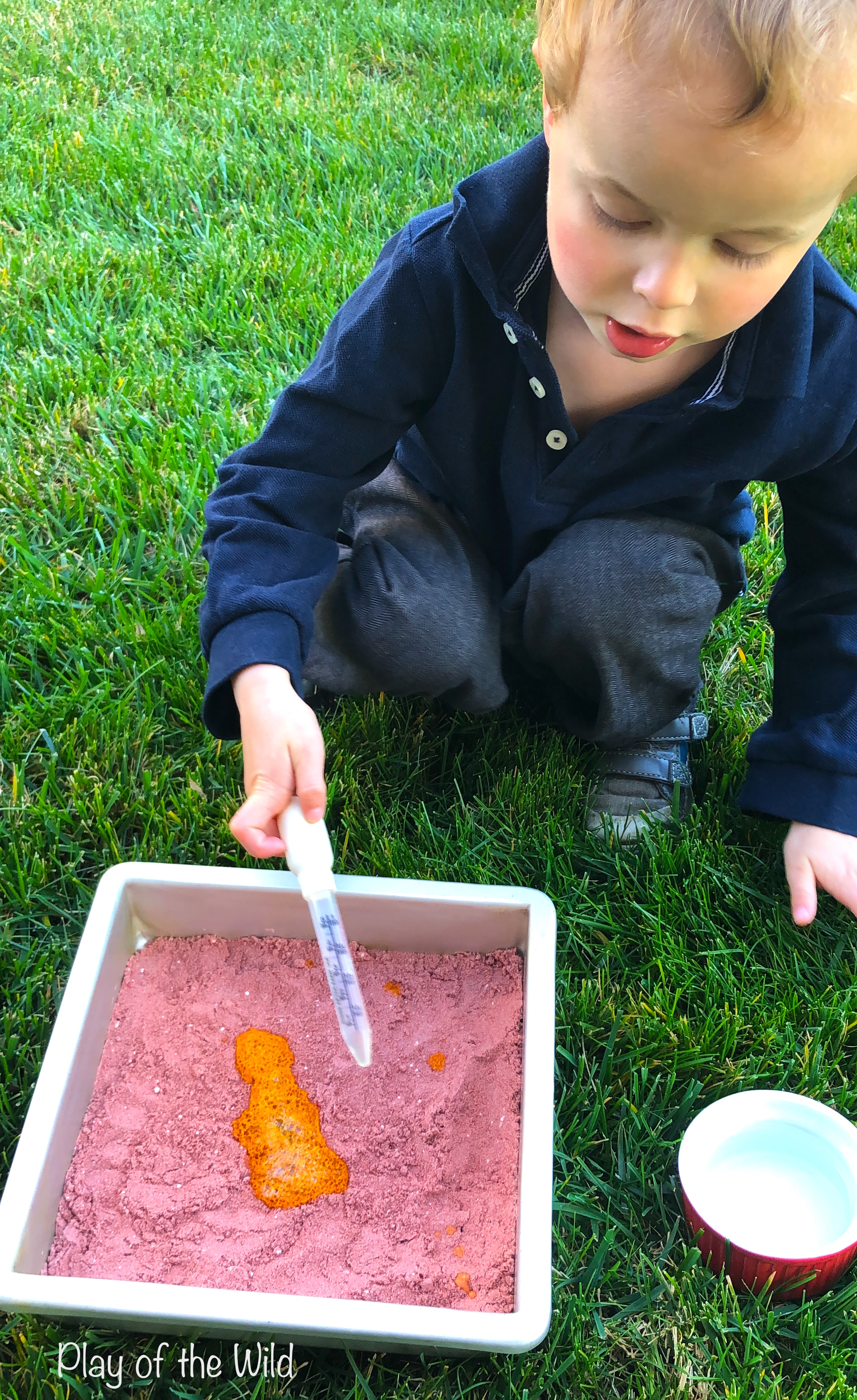 baking soda and vinegar science experiment. turmeric ph indicator