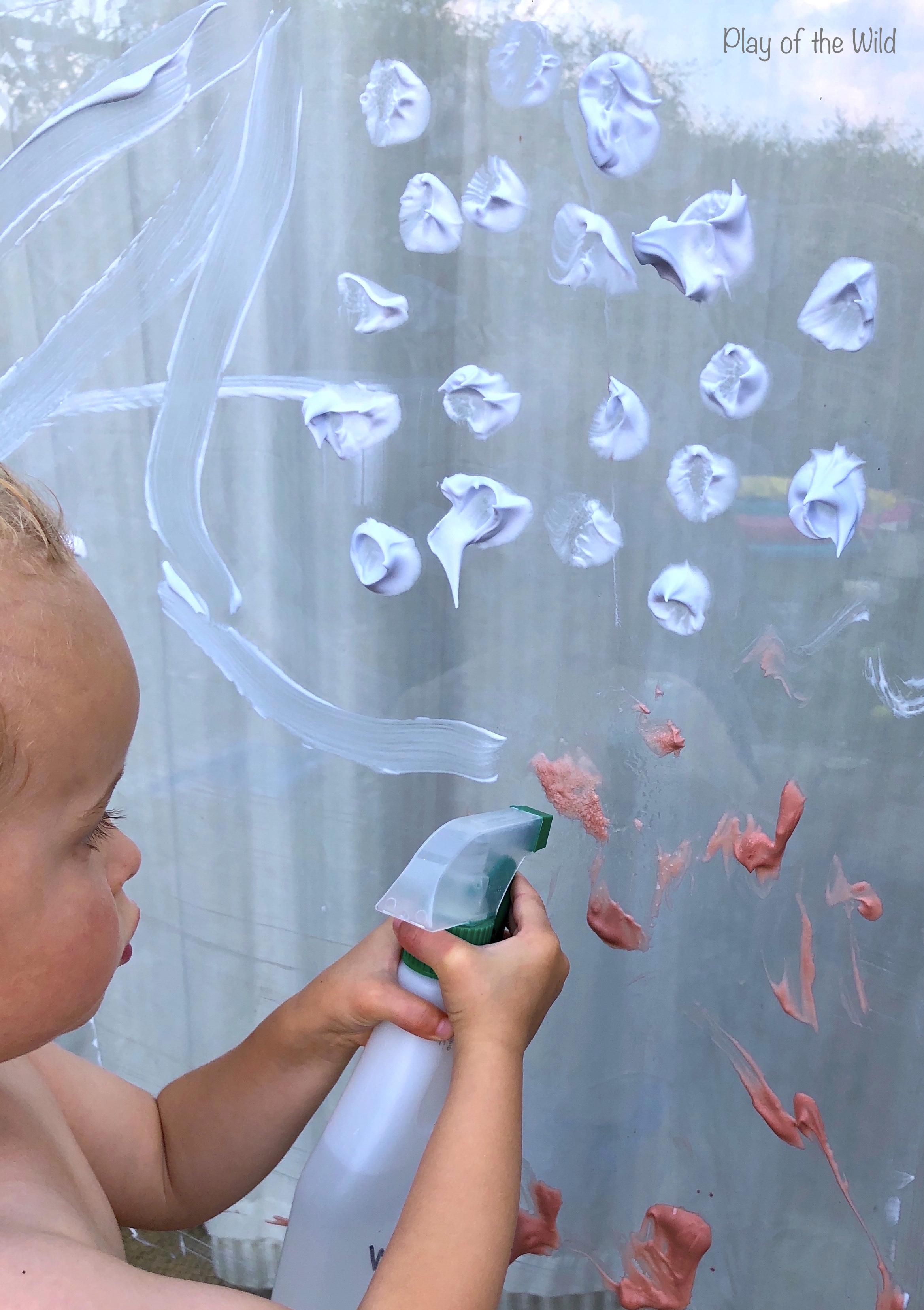 Shaving Foam Sensory Play Ideas