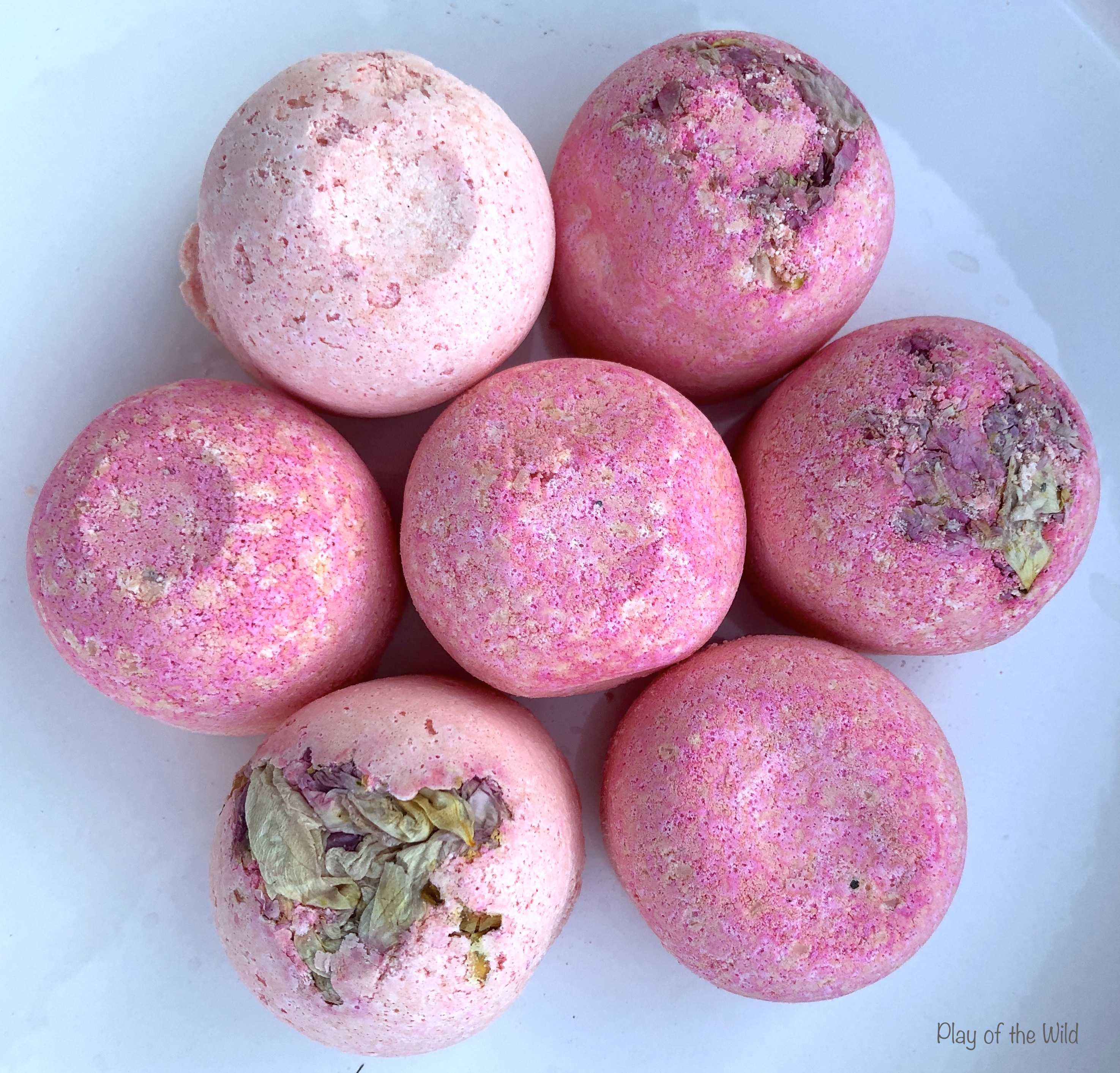 homemade natural bath bombs for kids