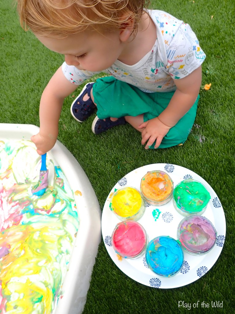 Corn Starch Paint – Homemade Edible Paint