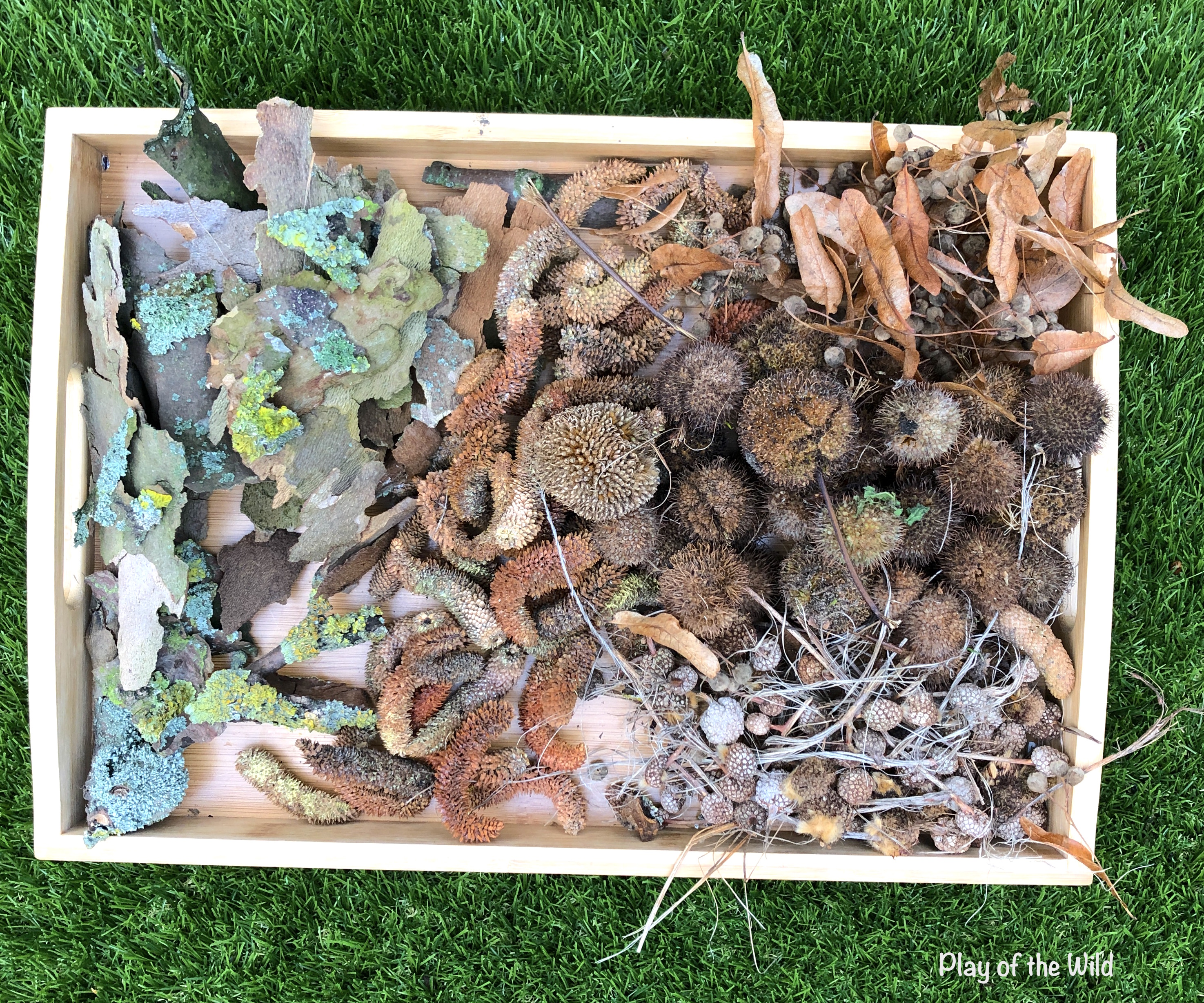 nature loose parts. Loose parts play ideas for toddlers