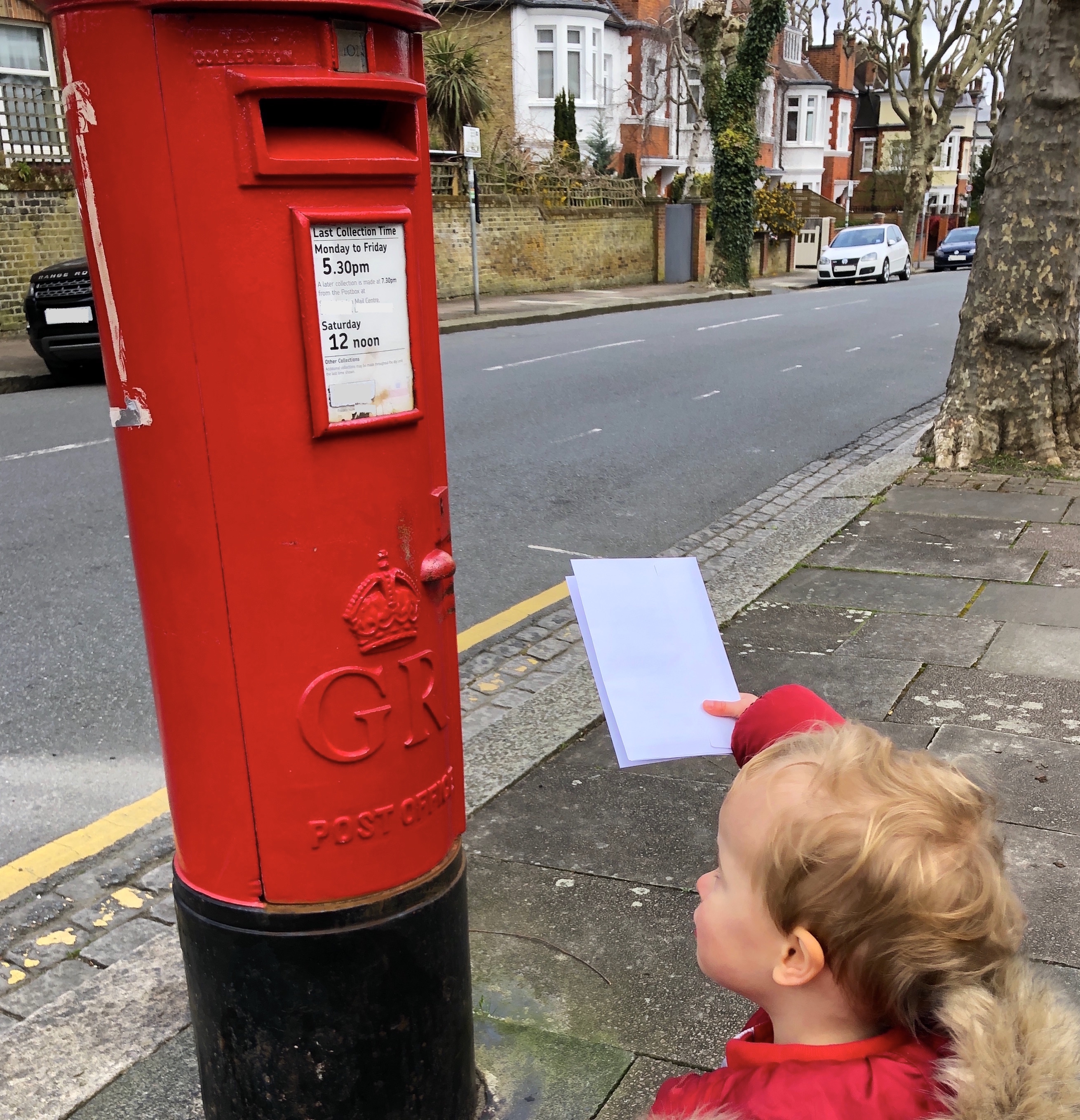 learning about the postman and post book