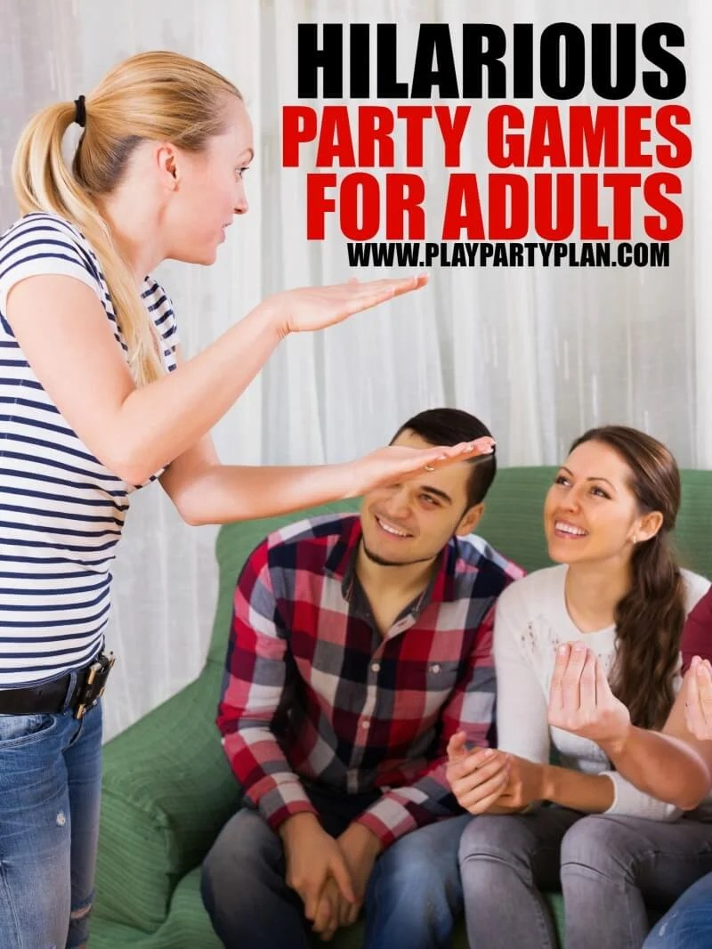 Games To Play While Sitting Down : games, while, sitting, Adult, Party, Games