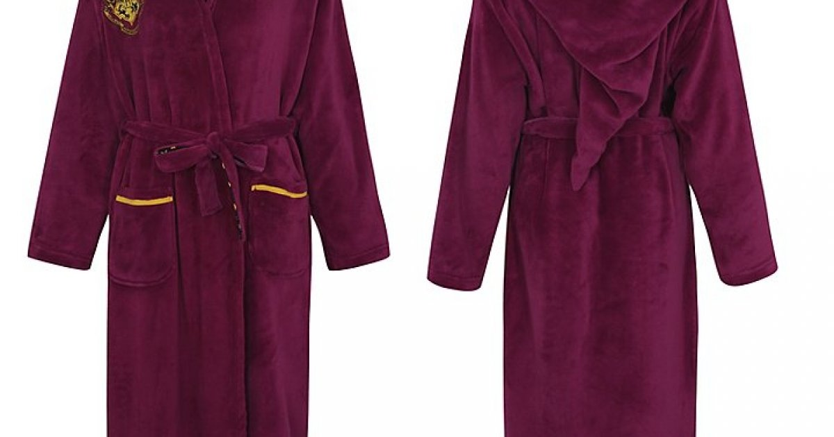 Women's Harry Potter Dressing Gown £18 @ Asda George