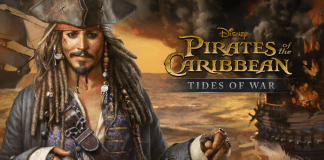 Pirates of the Carribean : Tides of War cover