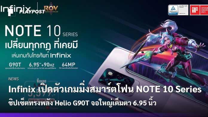 PR2021 Infinix Note 10 Series cover playpost