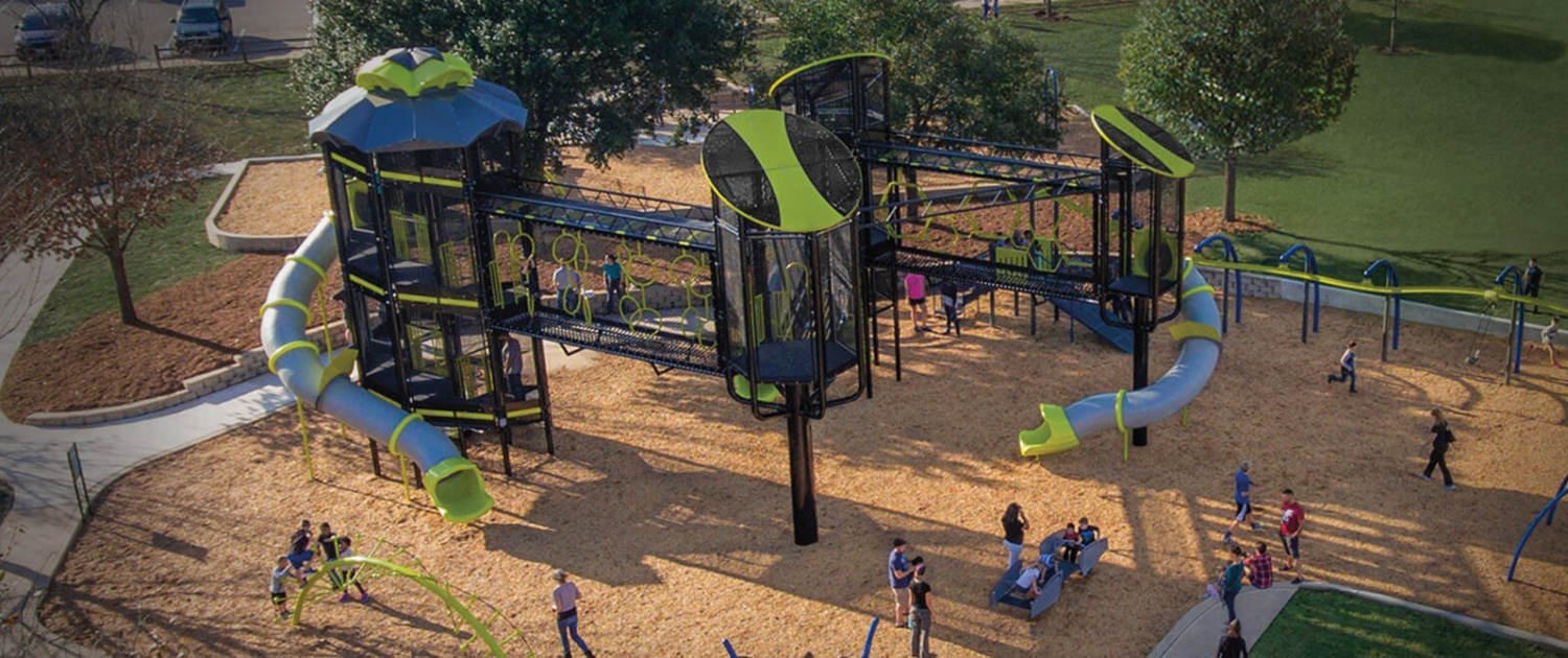playpower inc commercial playground