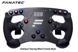 ClubSport Steering Wheel Formula Black
