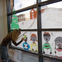 Craft Sheet - Festive Window - Play Resource
