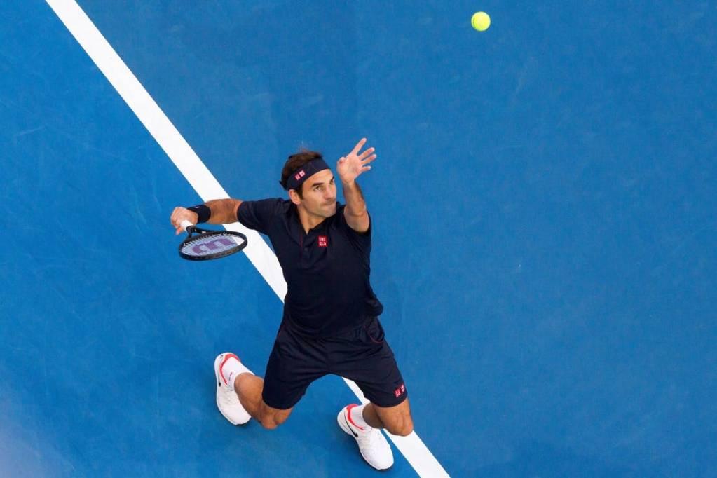 Serve - Roger Federer