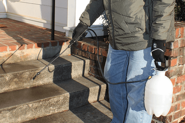 Lightly apply product to any surface up to 48 hours prior to Snowfall (safe for metals, deck fasteners, etc.).