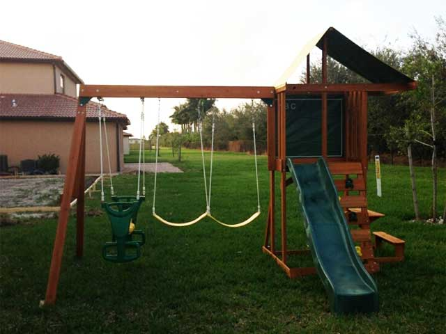 Big Backyard Swing Set Installation Ma Ct Ri Nh Me