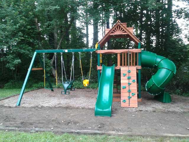 Gorilla Mountaineer Playset Playset Installation Swing Set