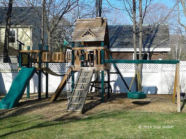 playset refinished