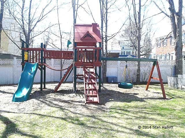 Playset Refinishing