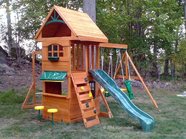 New England Playset Assembly Stoneham Ma Playset Installation