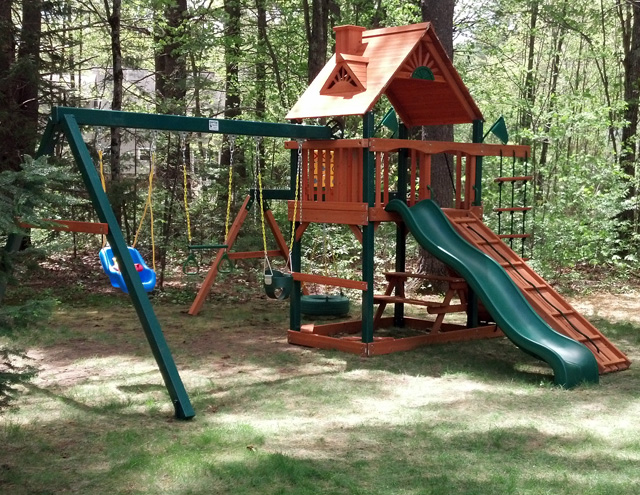 Playset assembler and swing set installer in kennebunk me for Gorilla playsets