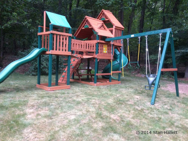 Gorilla Playsets Treasure Trove Swing Set