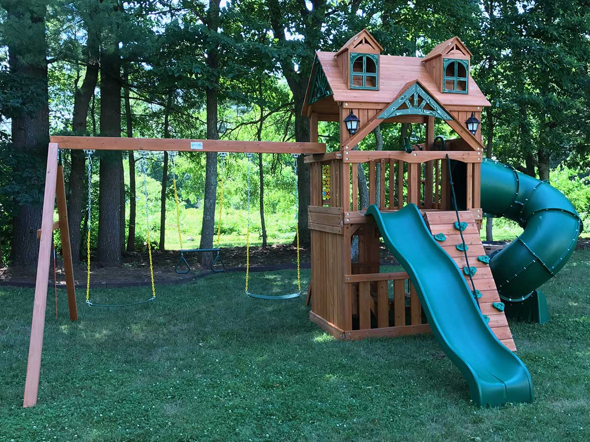 New England Playset Assembly Seekonk Ma Playset Installation