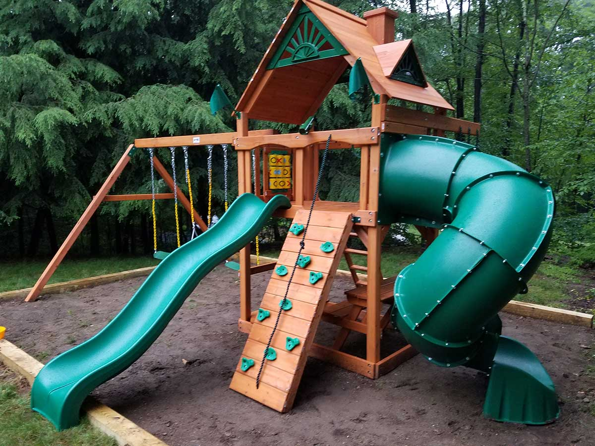New England Playset Assembly Watertown Ct Playset Installation