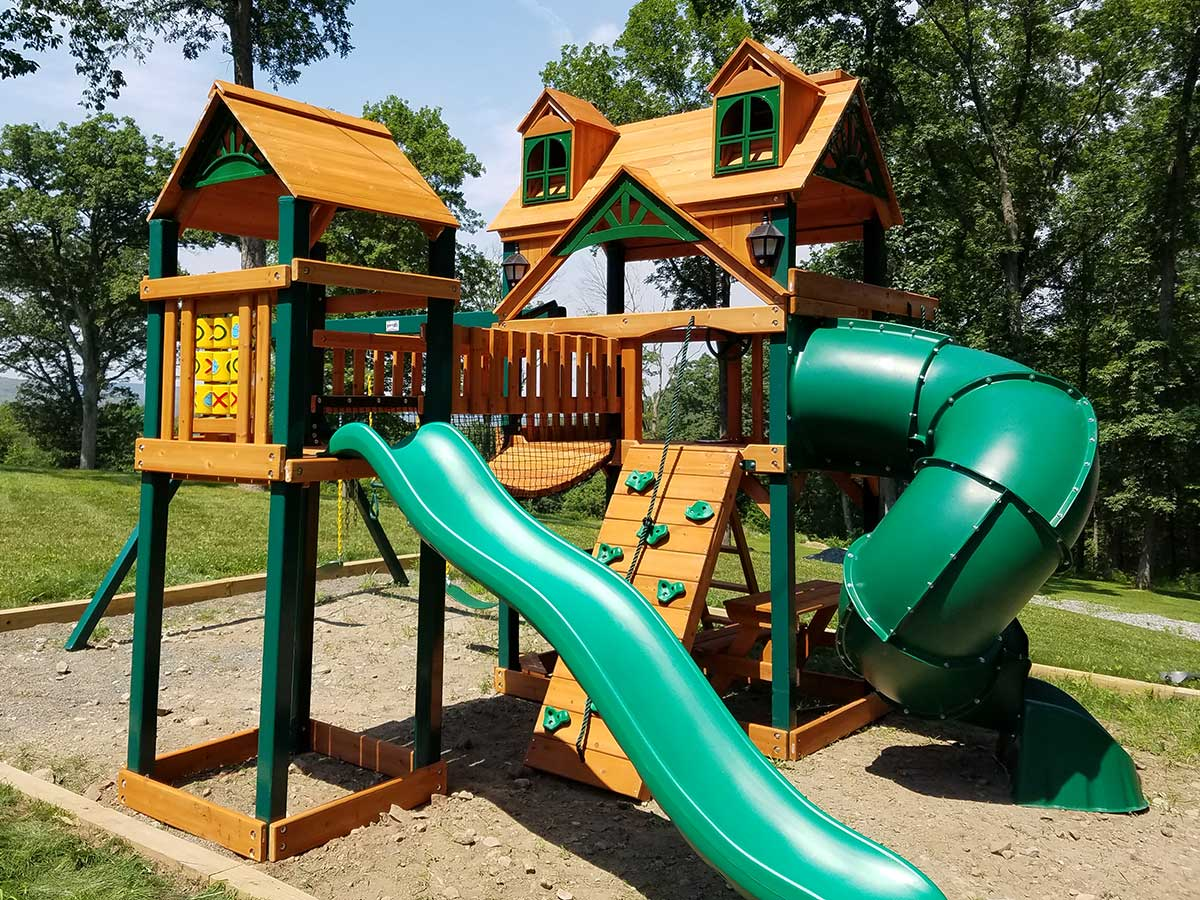 New England Playset Assembly Prospect Ct Playset Installation