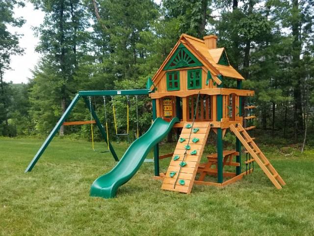 Gorilla Chateau Treehouse Playset