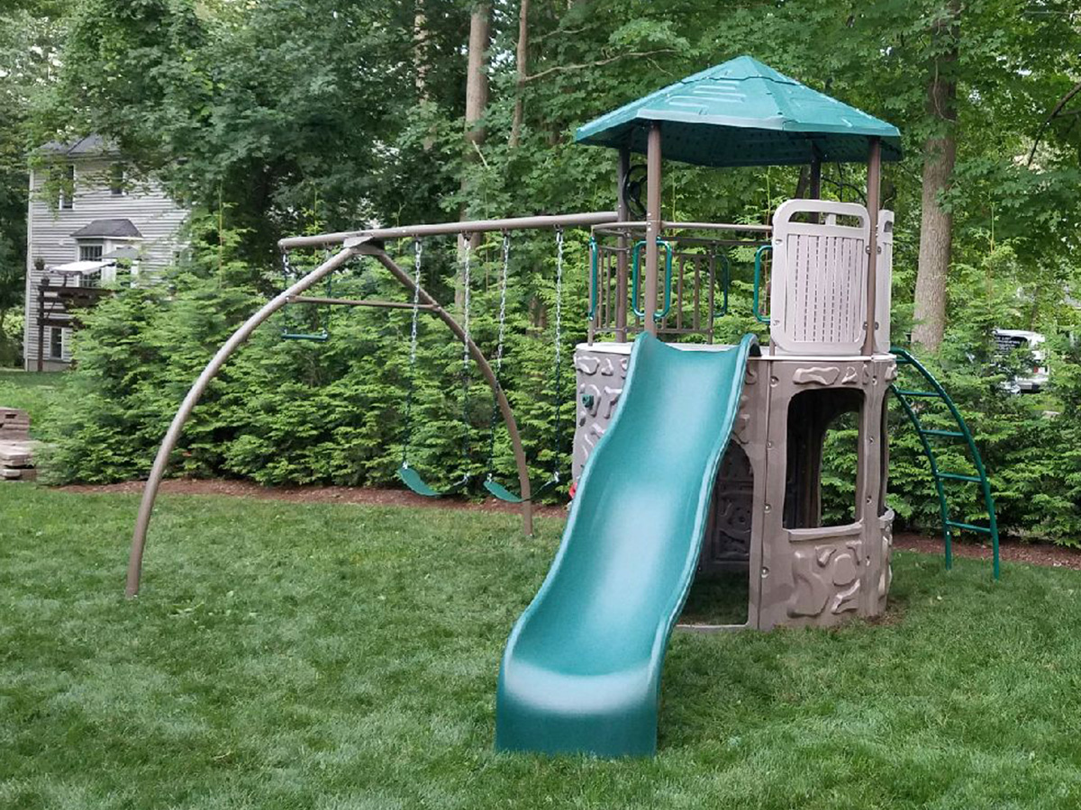 Lifetime Adventure Tower Swing Set