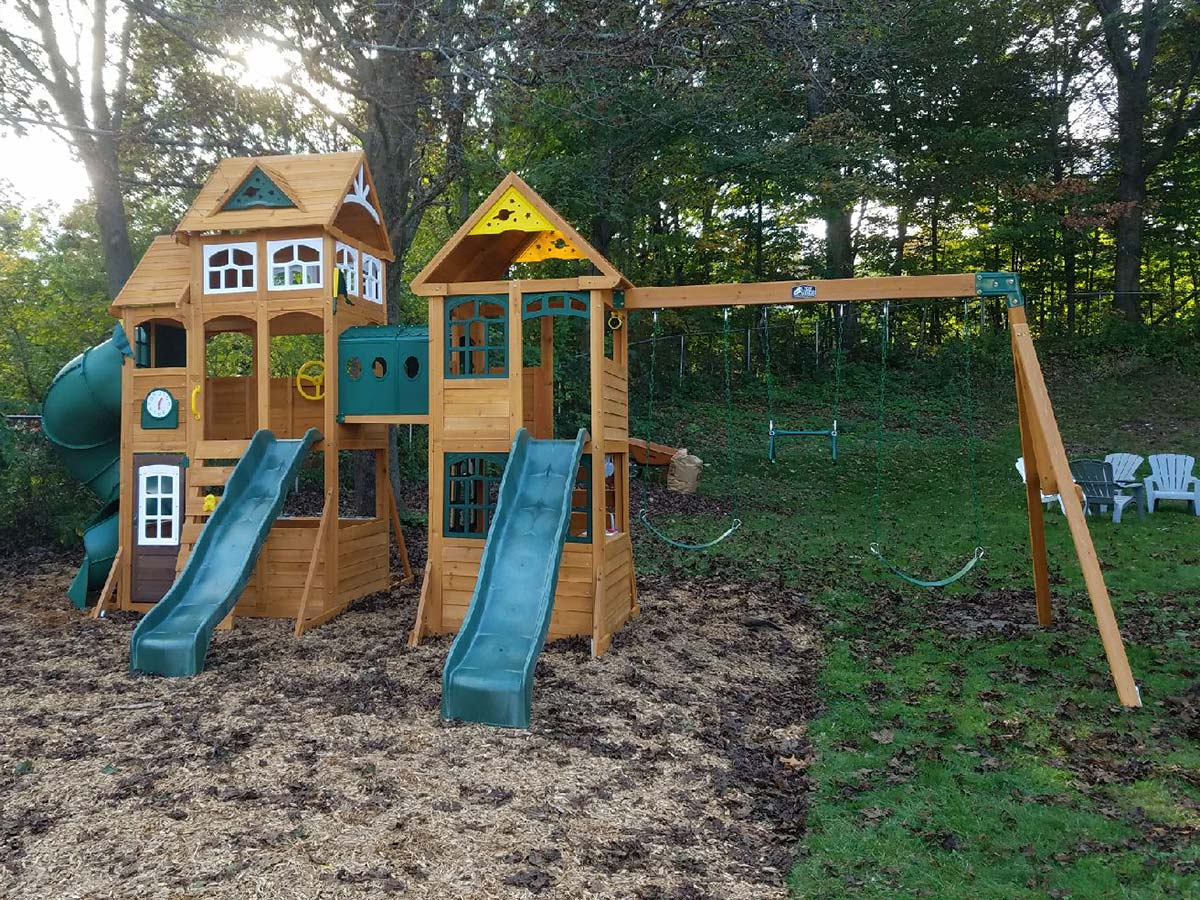 New England Playset Assembly Haverhill Ma Playset Installation