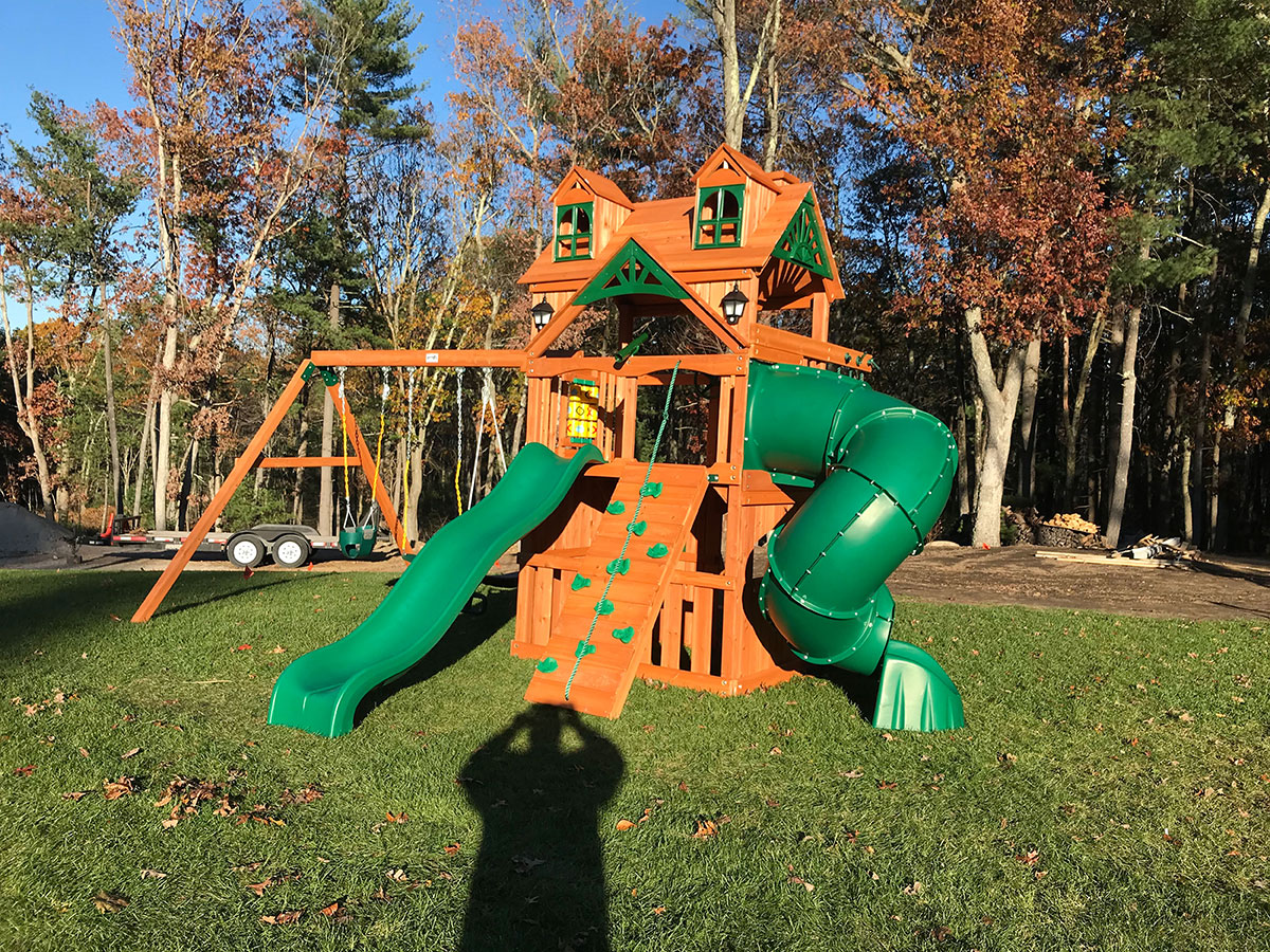 New England Playset Assembly Wrentham Ma Playset Installation