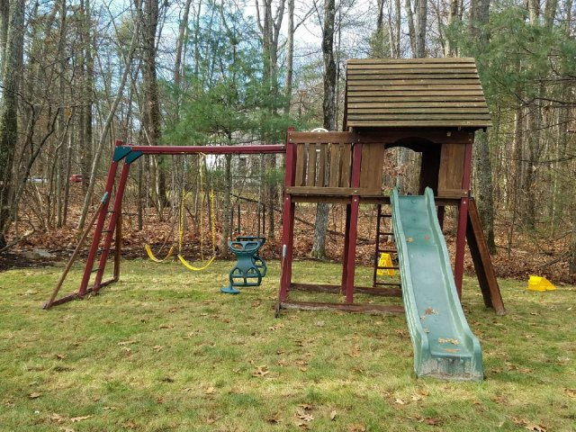Playset Relocation in Harvard,MA