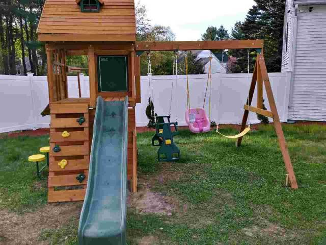 New England Playset Assembly Methuen Ma Playset Installation