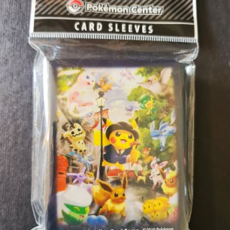 Pokemon Center London Official Saitou Pikachu Standard Card Sleeves 65 Count