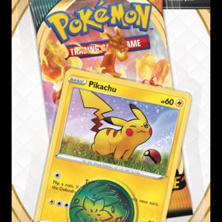 Pokemon TCG Checklane Single Blister Pack: Pikachu - Sword and Shield Darkness Ablaze (PREORDER)