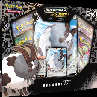 Pokemon TCG: Champion's Path Collection Dubwool V Box Promo (SWSH3.5)