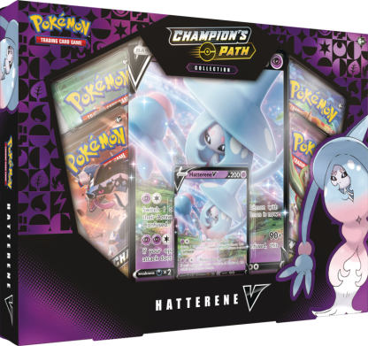 Pokemon TCG: Champion's Path Hatterene V Box Promo (SWSH3.5)