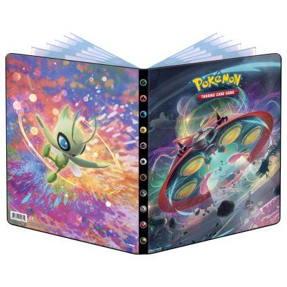 Sword-Shield-Vivid-Voltage-Portfolio-Binder-Folder-9-Pocket-Pokemon-TCG-Celebi-Orbeetle