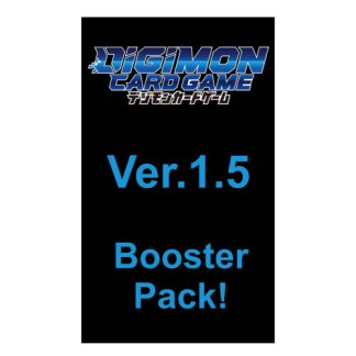 DIGIMON Card Game: RELEASE (BASE SET) SPECIAL BOOSTER PACK VER.1.5 Expansion