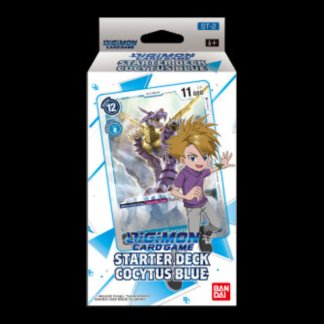 DIGIMON CARD GAME, Starter Deck, COCYTUS BLUE Matt