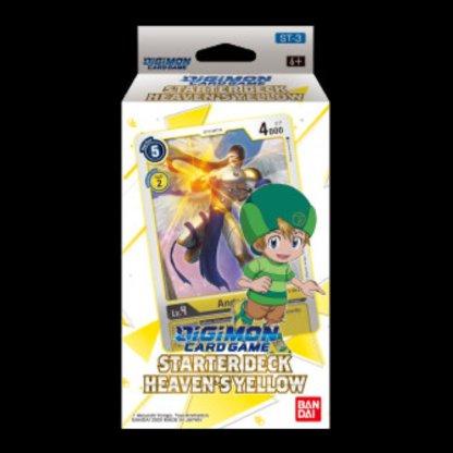 Digimon Card Game: Starter Theme Deck Heaven's Yellow T.K. ST-3