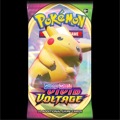 Vivid Voltage Pokemon TCG Cards Booster Pack Pikachu VMAX
